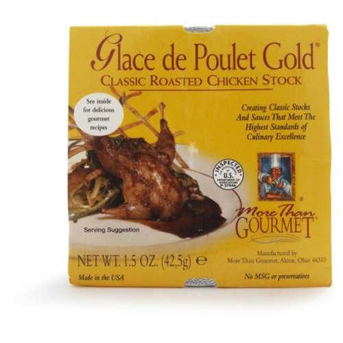 Glace de Poulet Gold Classic Roasted Chicken (Chicken Stock Roasted Chicken)