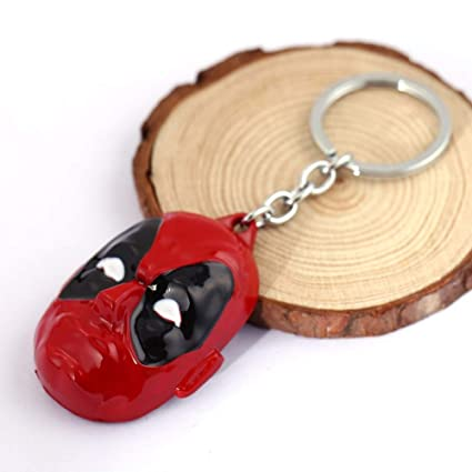 FITIONS - JEWELRY Series Key Chain Deadpool Logo Keyring ...