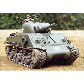 Tamiya M4 Sherman - RC- Vehículos Militares terrestres ...