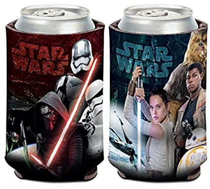 Star Wars R2-D2 1-Pack 12 oz 2-Sided Foldable Neoprene Can Cooler