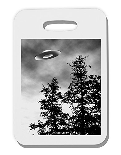 TooLoud UFO Sighting - Extraterrestrial Thick Plastic Luggage Tag