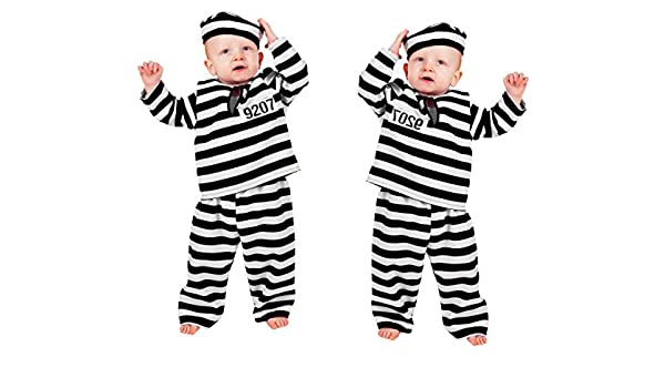 Stekarneval - Disfraz de preso infantil, talla 92 cm (303892 ...