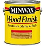 6209324 New Case (2) Gallons Fresh Minwax Pickled Oak Interior Oil Wood Stain