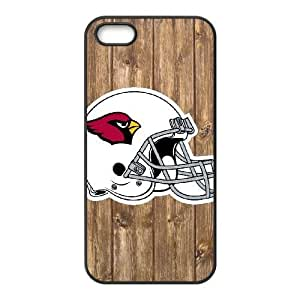 iPhone 5, 5S Phone Case NFL Arizona Cardinals Football Personalized Cover Cell Phone Cases GHX443755