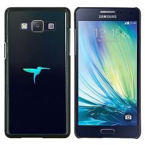 EJOOY---Cubierta de la caja de protección para la piel dura ** Samsung Galaxy A5 A5000 ** --Pájaro Laser