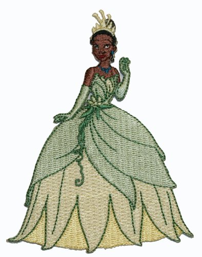 Disney Movie Princess Tiana And The Frog Embroidered Iron On - On Disney Princess Iron