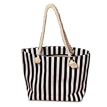 Amazon.com: Bolsa de Gamuza de bolsas de lona a rayas de ...