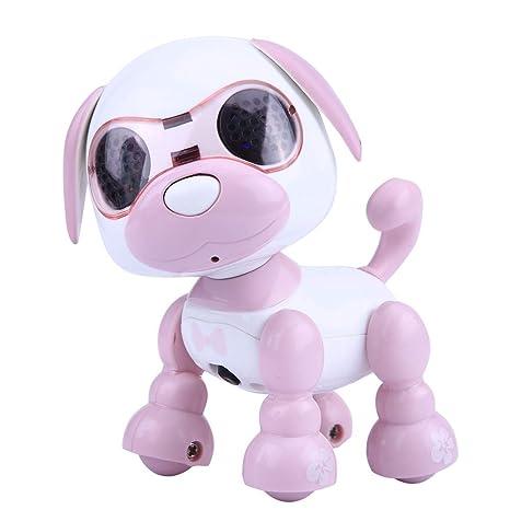 Dilwe cane robot elettronico giocattolo cane intelligente