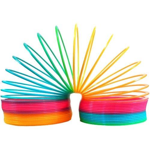 Magic Spring - 6 inch, Plastic, Rainbow Rhode Island Novelty CSRA150