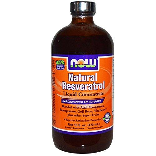Natural Liquid Concentrate Resveratrol (NOW Foods Natural Resveratrol Liquid Concentrate -- 16 fl oz)