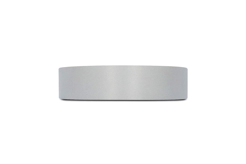 Ruban de Placage Pr/éencoll/é de Haute Qualit/é Rouleau de 7,5 m 22mm Bande de Chant en M/élamine Gris Couvrira le Bord dun Panneau MDF Standard /à Repasser pour une Application Facile