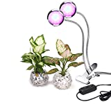 Led Grow Light By Angzhia Profession Plant Lamp for Indoor Plants | 16W Adjustable 2 Level Dimmable Clip Desk Lamp w/ 360°Flexible Gooseneck for Office,Home,Indoor Garden Greenhouse Organic Organizer Review