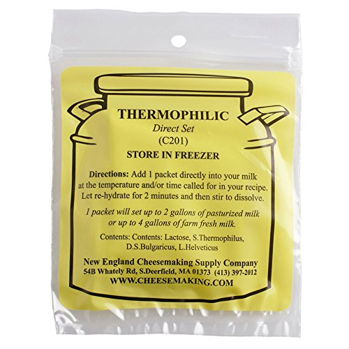 (Thermophilic Direct Set Cheese Culture, 5-Pack)