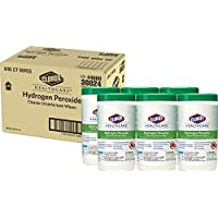 Clorox 6-Pack of 95 Count Healthcare Hydrogen Peroxide Cleaner Disinfectant Wipes