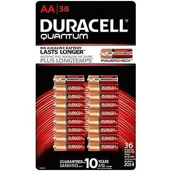 Amazon Com Duracell Quantum Alkaline Aa Batteries 28