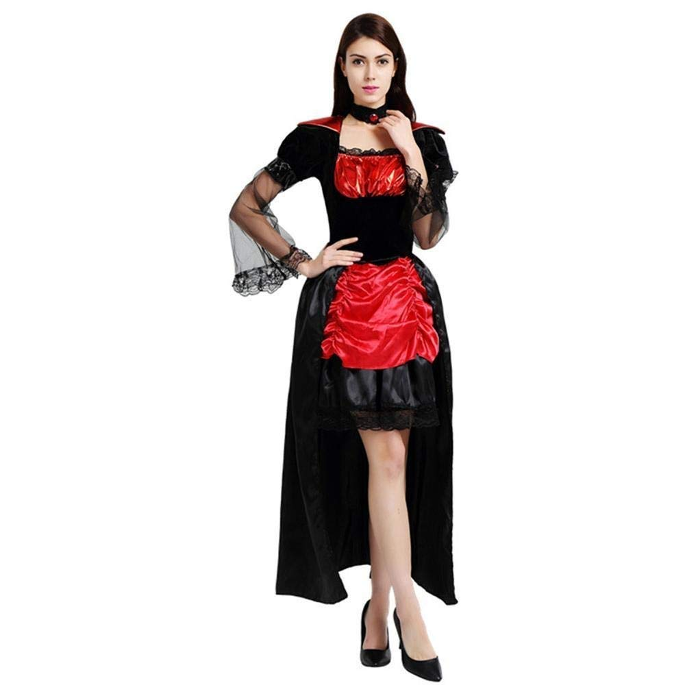 Fashion-Cos1 Bruja de Halloween Zombie Vampiro Cosplay Disfraz ...