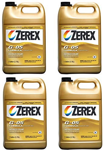 (Zerex G-05 Antifreeze/Coolant, Concentrated - 1gal (ZXG051) (4))