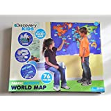 Discovery Kids Activity World Map 76 pieces