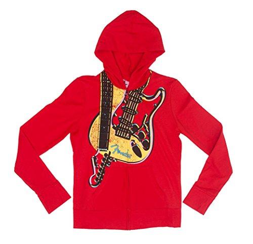 fender guitar hoodie - 1