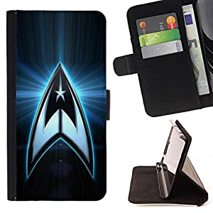 BETTY - FOR Sony Xperia Z2 D6502 - star galaxy space series - Style PU Leather Case Wallet Flip Stand Flap Closure Cover