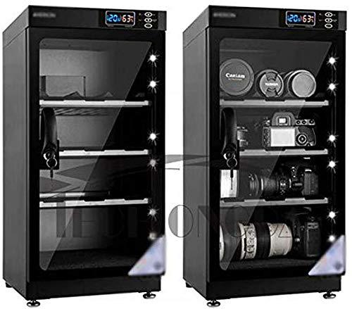 INTBUYING 50L 4 Schichten Kamera Objektiv Entfeuchtung Trockenschrank Digital Control Dry Box Geräuschlos Energiesparend…