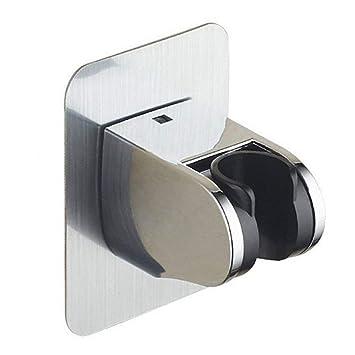 Universal ángulo ajustable soporte de cabezal de ducha para ...