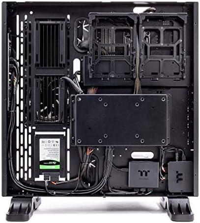 Thermaltake LCGS Shadow III AIO Liquid Cooled CPU Gaming PC (AMD RYZEN 5 3600 6-core, ToughRam DDR4 3200Mhz 16GB RGB Memory, RTX 2060 Super 8GB, 1TB SATA III, WiFi,Win 10 Home) P3BK-B450-STL-LCS, 51X4xEhtjiL