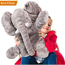 24inch Stuffed Animals, AmyHomie Plush Elephant, Kids Cuddle Elephant, Stuffed toys, Kids Plush Toy