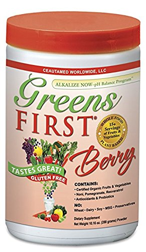 Greens First - Berry - 30 Servings - 10.16 Ounce