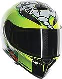 AGV unisex-adult full-face-helmet-style K-3 SV Misano-11 (Multi, Medium-Large), 1 Pack