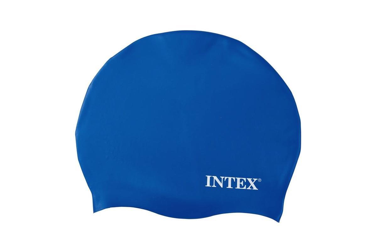 Intex- Cuffia in Silicone I.24 Colore Bianco//Blu//Nero 55991 13.3 x 1.6 x 15.9