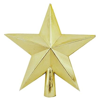 Amazon.com: Xmas 3D Star Christmas Tree Topper, Christmas Tree ...