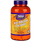 NOW Sports Kre-Alkalyn Creatine,240 Capsules For Sale