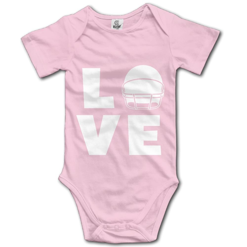 Baby Bodysuit Love Football Hover Cute Short Sleeves Triangle Romper Bodysuit Outfits Infant Toddler Clothes For Boy Girl