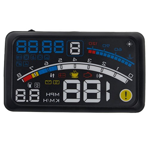 Hud Head Up Display Car Speedometer OBD2 Smart Digital Trip Computer OBD 2 Scanner OBD2 Diagnostic Tool Speed Alarm ()