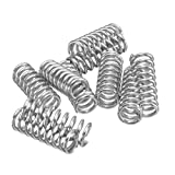 Semoic 10pcs Leveling Spring Accessories for 3D Printer Extruder Heated Bed Ultimaker Makerbot