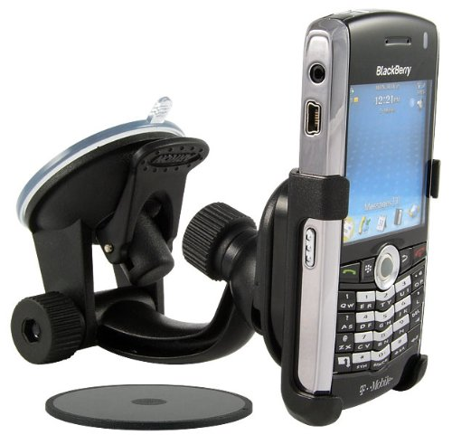 Arkon Windshield Console and Dash Mount for BlackBerry Pearl - Black