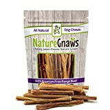 Nature Gnaws Junior Bully Sticks 5/6 inch Review and Comparison