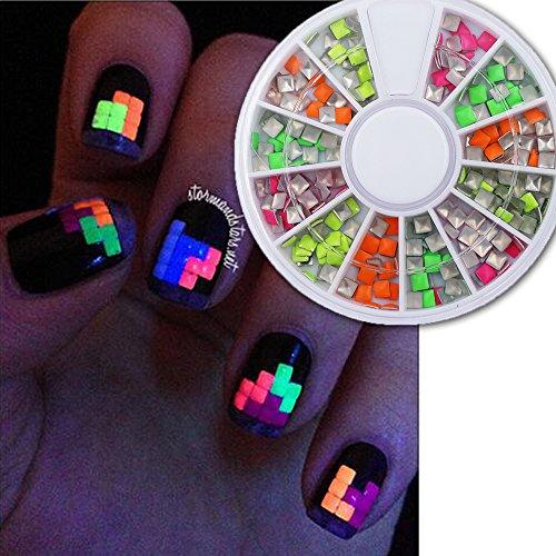 Sindy Great Mixed DIY Size Glitter Rhinestones Charm 3D Nail Art Decor Accessories