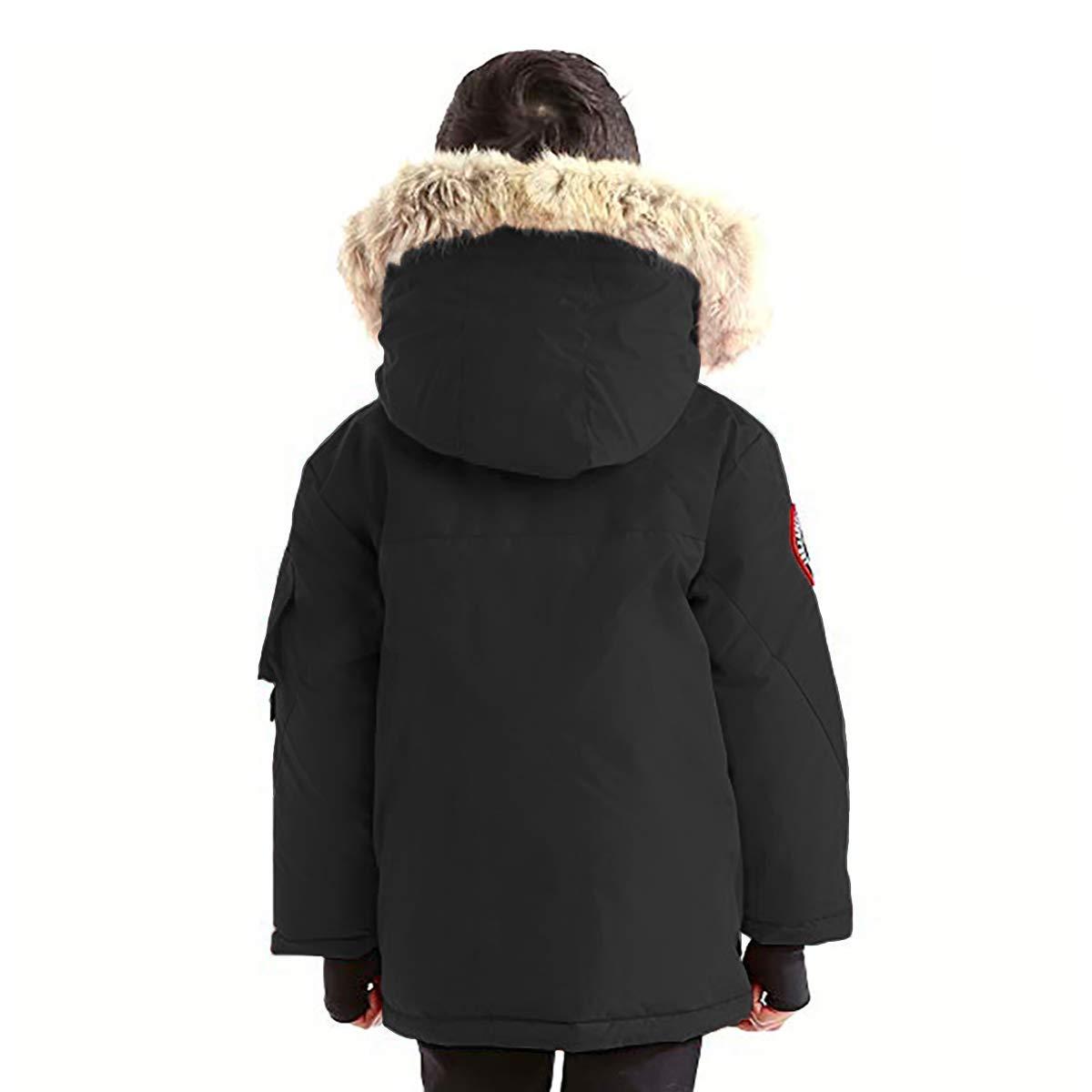 Triple F.A.T. Goose Kids Chenega Premium Down Jacket (7, Black) by Triple F.A.T. Goose (Image #3)