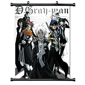 """D. Gray-Man Anime Fabric Wall Scroll Poster (16"""" X 21"""") Inches"""