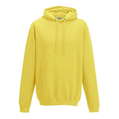 8f5a9c3a Image Unavailable. Image not available for. Colour: Sherbet Lemon Coloured AWDIS  College Hoodie