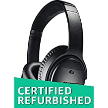 Bose QuietComfort 35 (Series II) Wireless Headphones, Noise Cancelling - Black (Certified Refurbished)