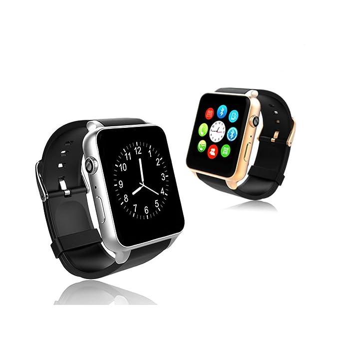 Teckey® Impermeable ritmo cardíaco monitor Bluetooth reloj ...