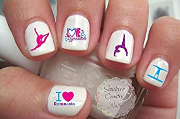 Amazon gymnastics pinkbluepurple nail art decals beauty gymnastics pinkbluepurple nail art decals prinsesfo Gallery
