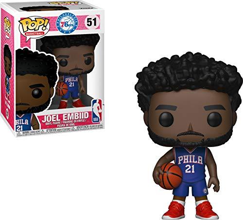 Funko 34445 Pop Vinilo NBA Joel Embiid, Mu