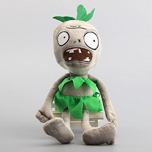 Pirate Zombie Green 12 Inch Toddler Stuffed Plush Kids Toys PVZ by kidsheaven ()