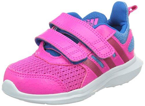 adidas Hyperfast 2.0 CF I Scarpe Walking Baby, Unisex Bimbo Multicolore (Rosa / Azul (Rosimp / Rosfue / Azuimp))