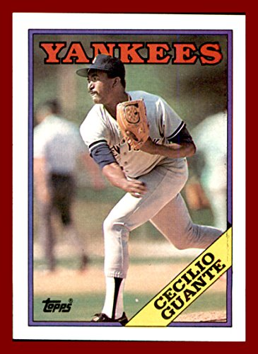 1988-topps-84-cecilio-guante-new-york-yankees