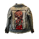 Best for All Little Big Girls Jean Jacket,Toddler Denim Jacket Fashion Outwear Cowboy Overcoat 10-11Years
